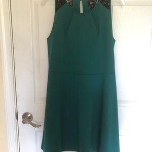 Target-Green dress with lace